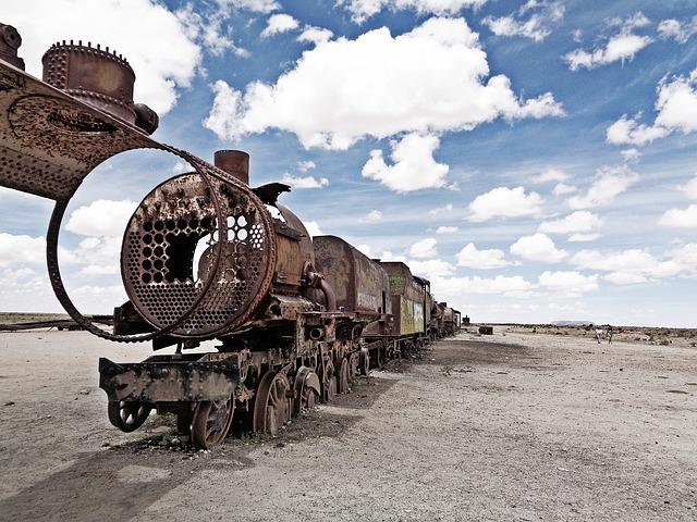 cimetière de trains Salar d Uyuni